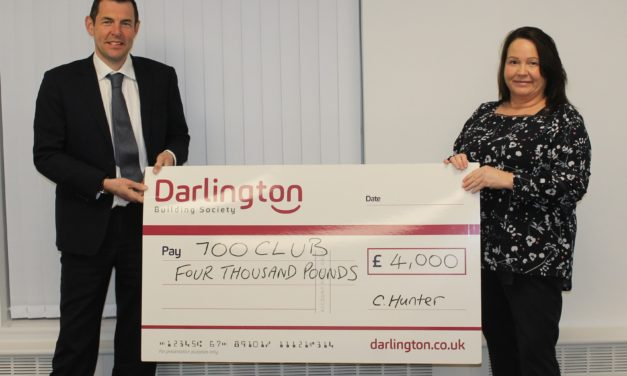 Project to help vulnerable people live independently supported by Darlington Building Society donation