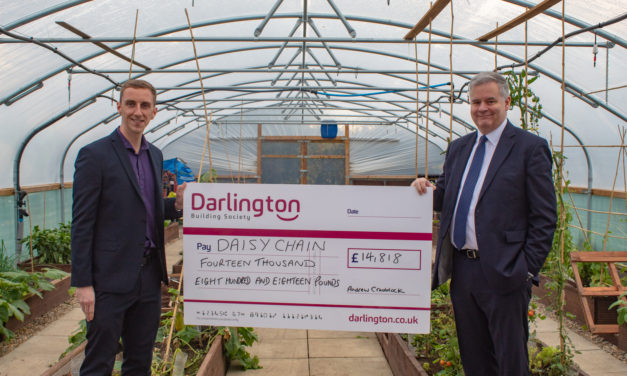 Gardening project to blossom at autism charity thanks to building society