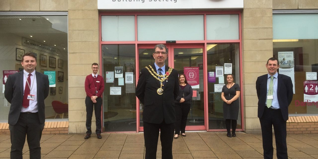 Mayor thanks building society staff for being 'lockdown heroes'