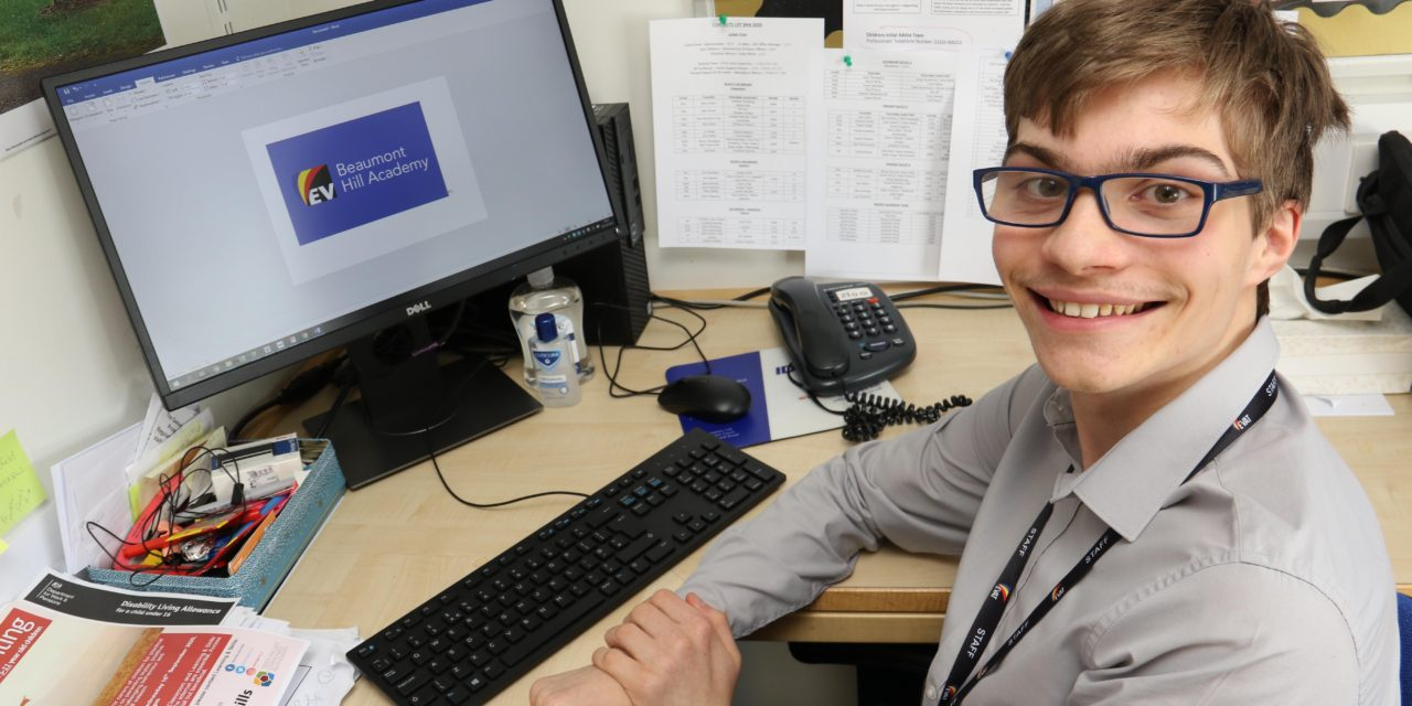 Former pupils goes back to school as apprentice
