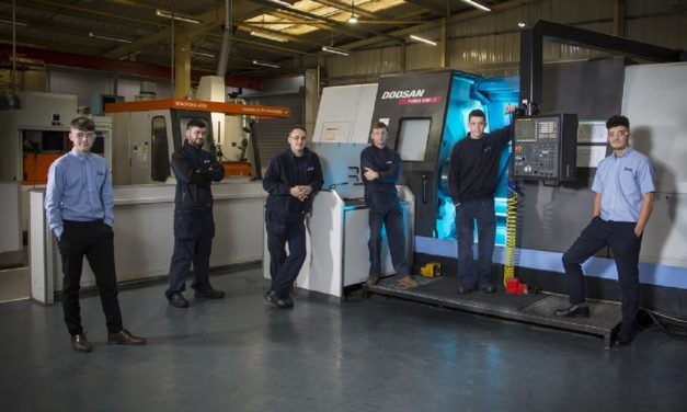 GATESHEAD ENGINEERING FIRM INVESTS IN NEW APPRENTICES TO SUPPORT GROWTH