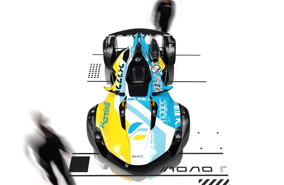 BAC DELIVERS FIRST MONO R IN OUTRAGEOUS LIVERY INSPIRED BY ICONIC PLAYSTATION RACING GAME 'WIPEOUT'