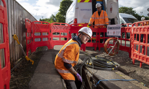 Broadband Boost as Openreach 'Full Fibre' Build Continues at Pace