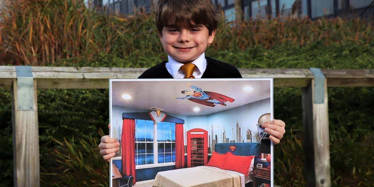 Helping to build a dream bedroom for Joshua