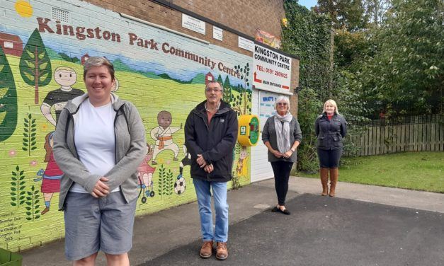 Kingston Park Community Centre Team Feeling Flush After Banks Group Bathrooms Grant