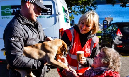 Founder of North East friendship dog charity recognised by PM