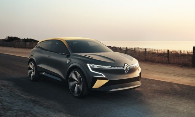 NEW MÉGANE eVISION CONCEPT DEBUTS AT RENAULT EWAYS PRESS CONFERENCE