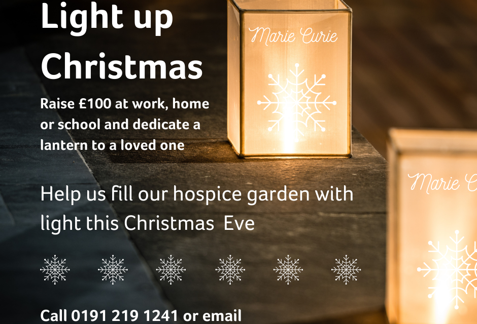 Light Up Christmas for Marie Curie Newcastle