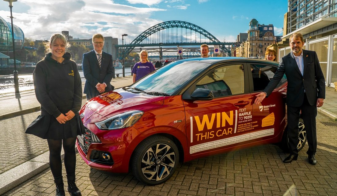 XMAS FEARS OVER CHARITY CASH – TWO TOP NORTH BUSINESSMEN PARTNER FOR CHRISTMAS 'GREAT NORTHERN RAFFLE'