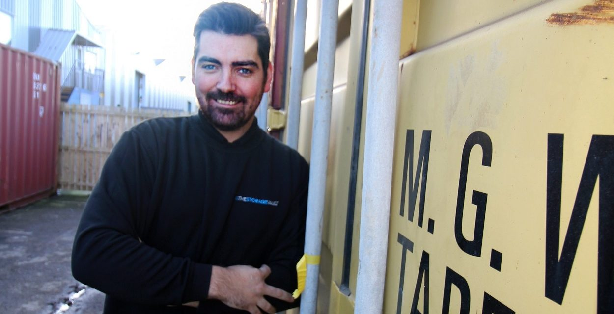 NEED TO CREATE SPACE INSPIRES ENTREPRENEUR PATRICK TO LAUNCH THE STORAGE VAULTLAUNCHES THE STORAGE VAULT AS WORKPLACES SEEK TO CREATE SPACE