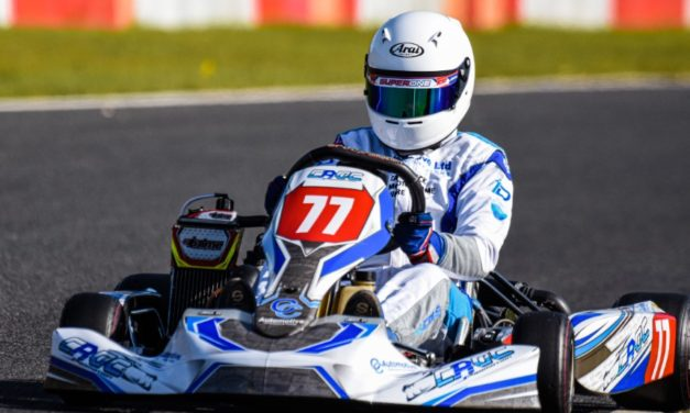 Double championship for rising racing star
