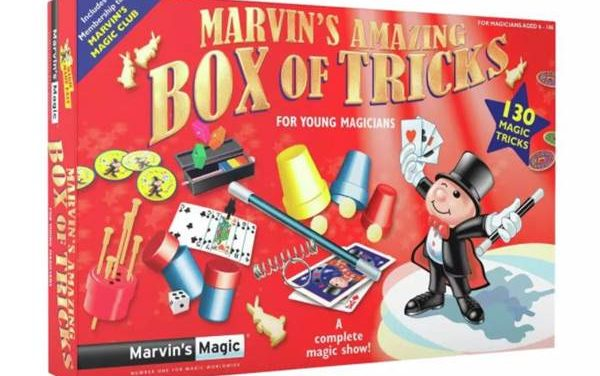Go Back to Basics This Christmas With Marvin's Magic