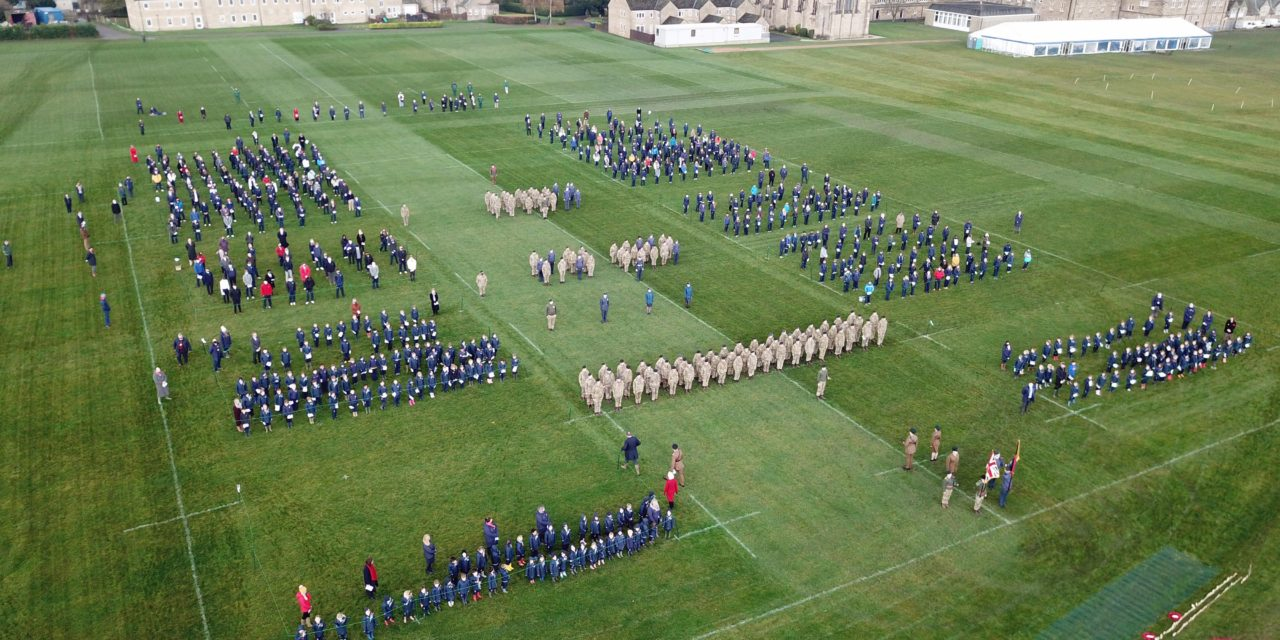 School unites in song for Remembrance Day
