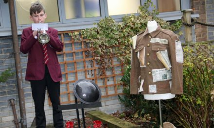 Armistice Day remembered virtually through college