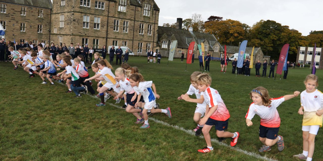 Historic race goes ahead as students run in bubbles