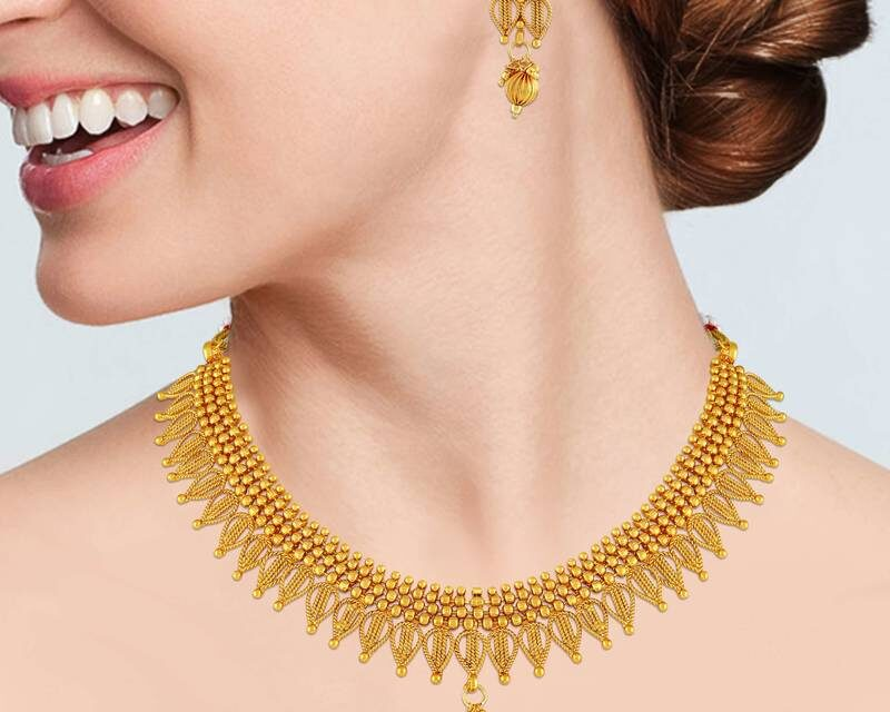 The Safest Way to Buy Gold Necklace Online