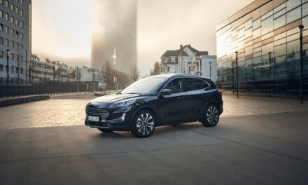 NEW KUGA HYBRID SUV POWERS INTO PRODUCTION OFFERING EVEN MORE CHOICE TO CUSTOMERS JOINING FORD'S ELECTRIC REVOLUTION