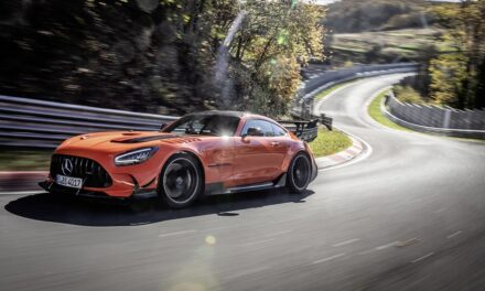 MERCEDES-AMG GT BLACK SERIES IS FASTEST PRODUCTION CAR ON THE NÜRBURGRING-NORDSCHLEIFE