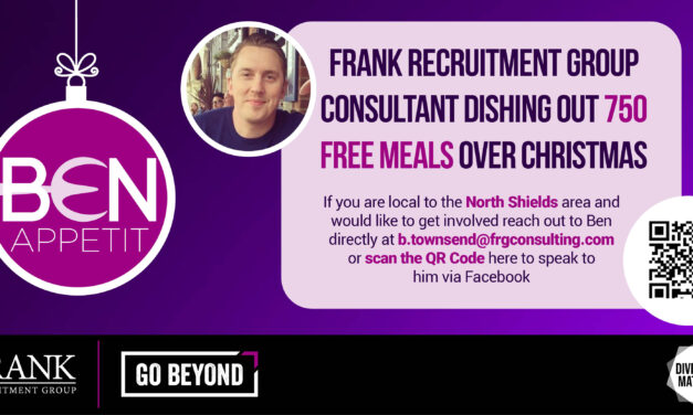 Ben Appetit! Meet the man serving up 750 free meals in North Tyneside this Christmas