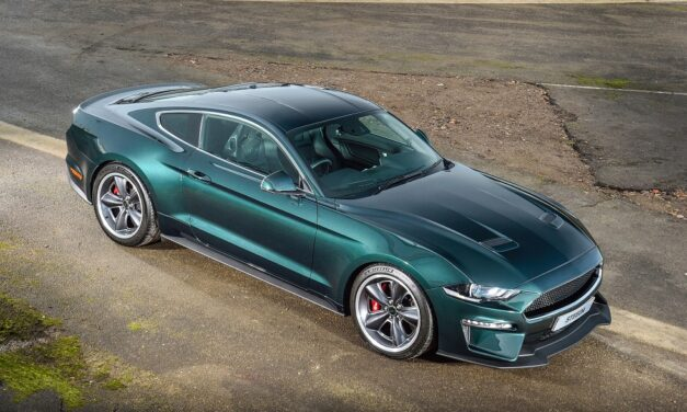 British owner becomes 'the king of cool' taking delivery of first UK Steeda Steve McQueen Limited Edition Bullitt Mustang