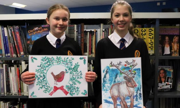 Students' festive designs spread joy across the community