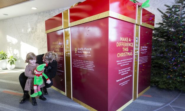 TEESSIDE PARK LAUNCHES GIANT GIVING BOX TO RAISE FUNDS FOR LOCAL HOSPICE