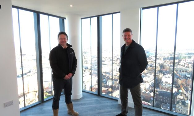 High Street Group celebrate completion of Newcastle's tallest building unveiling 'hometel' concept