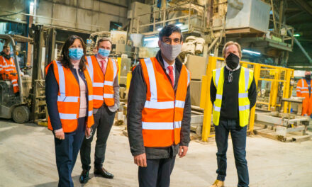 Richmond MP visits expanding sustainable manufacturing plant in Catterick