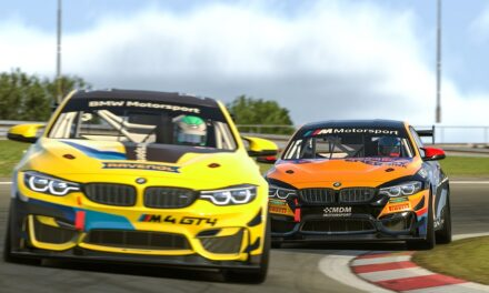 The perfect example of synergies between real-world motorsport and sim racing: the BMW M4 GT4