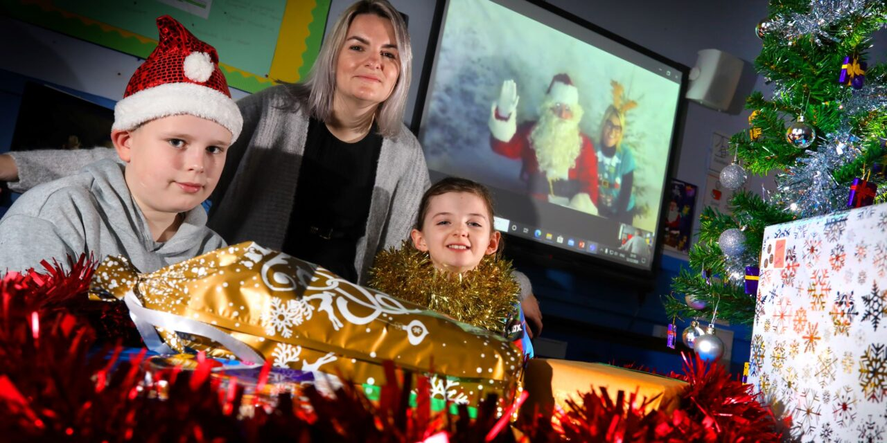 Father Christmas Comes to Cambois