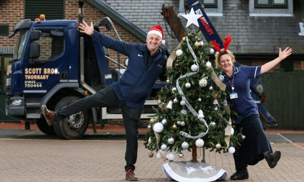 Scott Bros supports Teesside Hospice with annual Christmas tree fundraiser