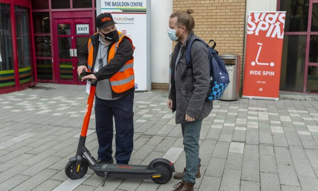 Ford's Spin e-scooters arrive in Essex