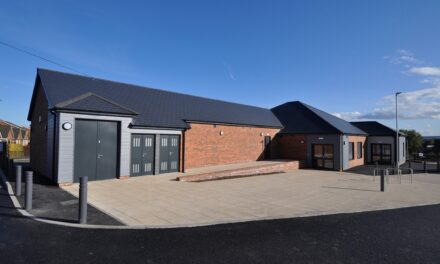 Game changing Sports Pavilion in Throckley nears completion