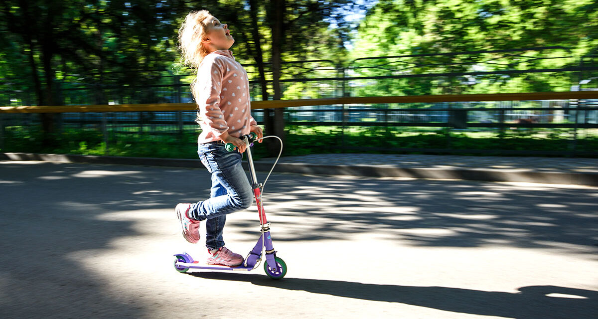 7 essential skills a kids scooter will teach your children