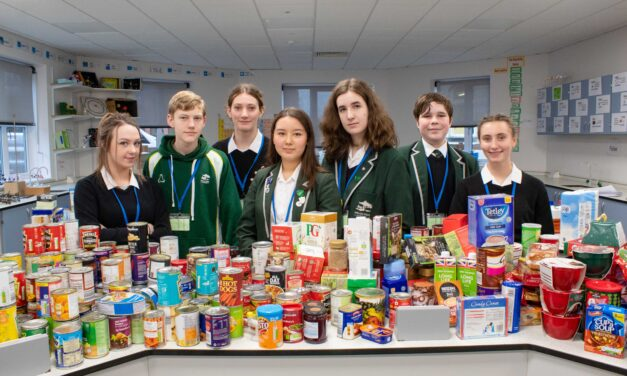 Record result for North-East school's food box appeal