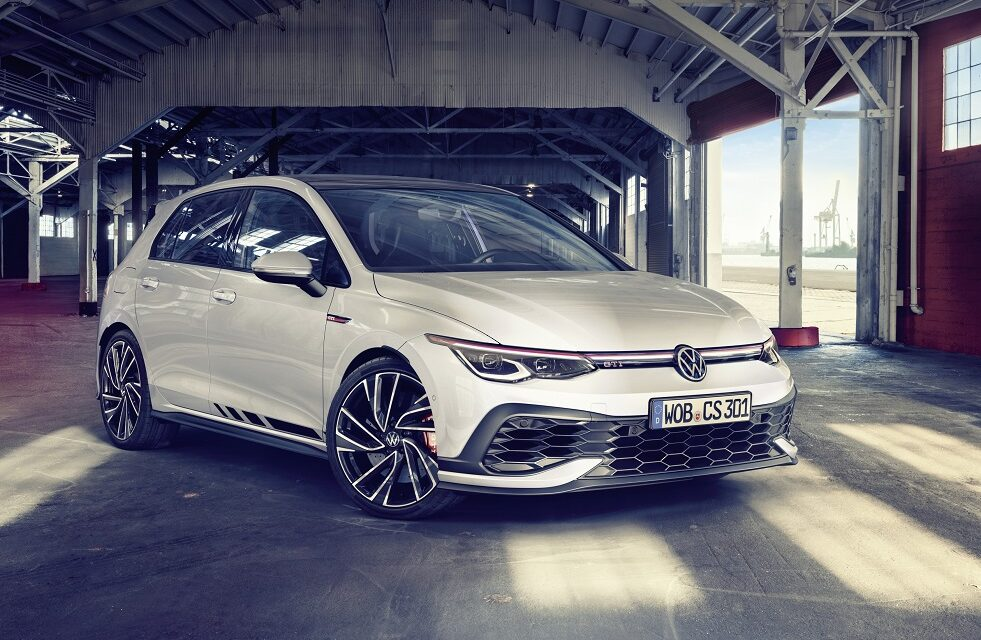 Most powerful Golf R to date opens for order alongside agile new Golf GTI Clubsport