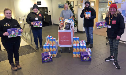 Grundfos generosity helps families at Christmas