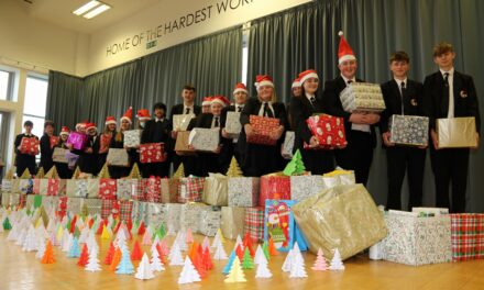 Students collect record number of packages for food bank