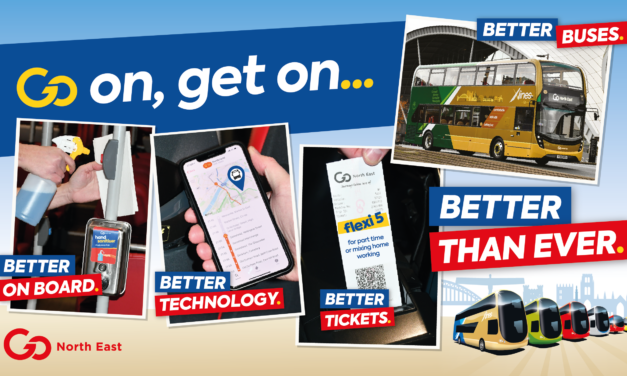 Get on board Go North East's buses for a better than ever journey to help bust congestion and improve air quality as non-essential retail reopens with the move into Tier 3