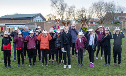 Rudolphs give hospice a run for its money