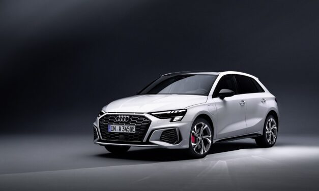 Audi uprates its power supply with new competition version of plug-in hybrid A3 sportback