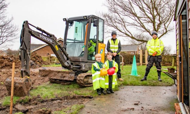 Construction begins on new early years provision as demand grows in Northumberland