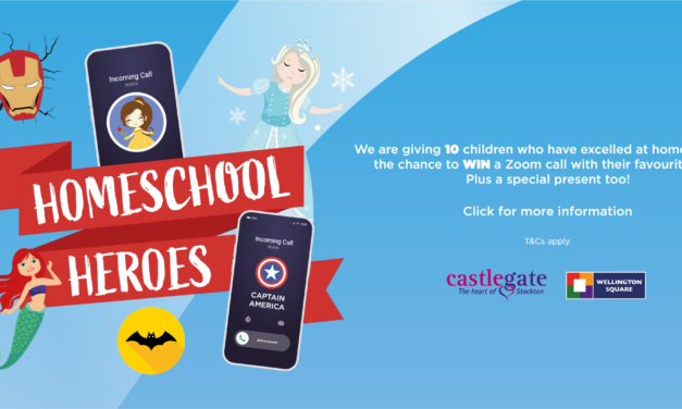 WIN A ZOOM CALL WITH YOUR HERO THANKS TO STOCKTON SHOPPING CENTRES!