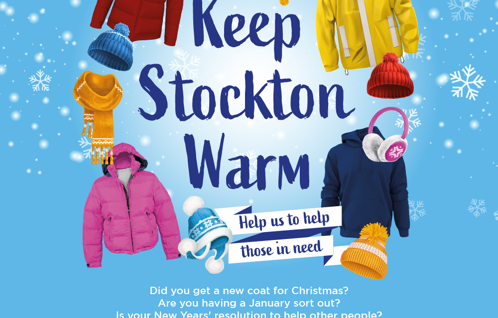 SHOPPING CENTRES LAUNCH CAMPAIGN TO KEEP STOCKTON WARM