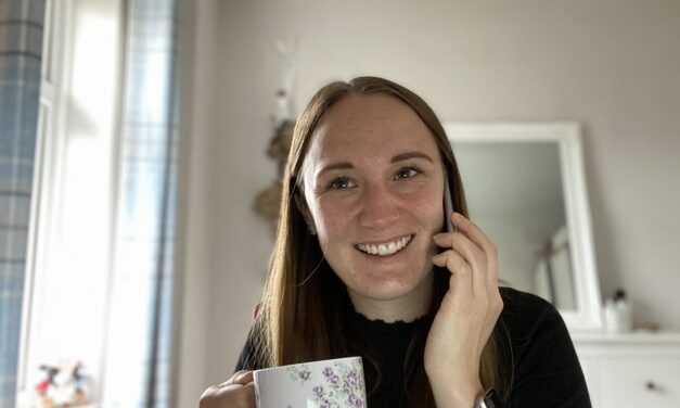 Emma does building society proud by helping to tackle loneliness