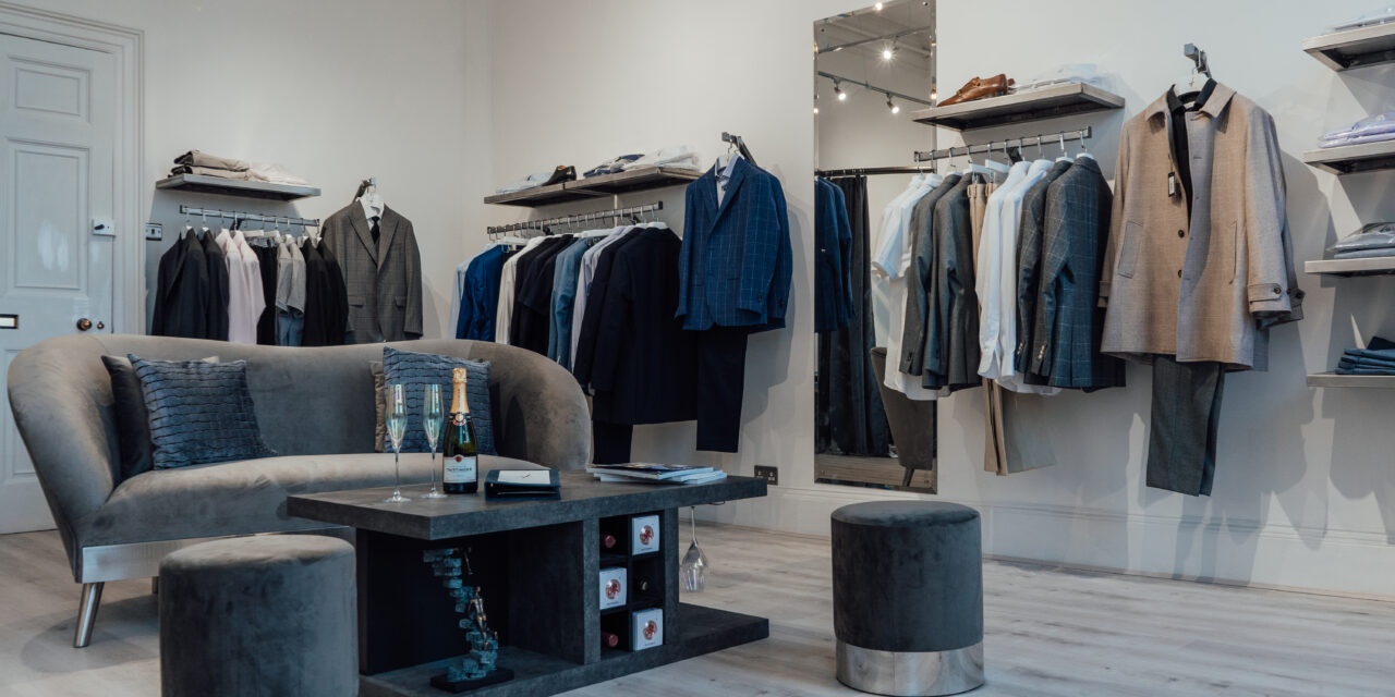 Luxury Made-To-Measure Boutique Opens in Durham, Lockdown Two Days Later