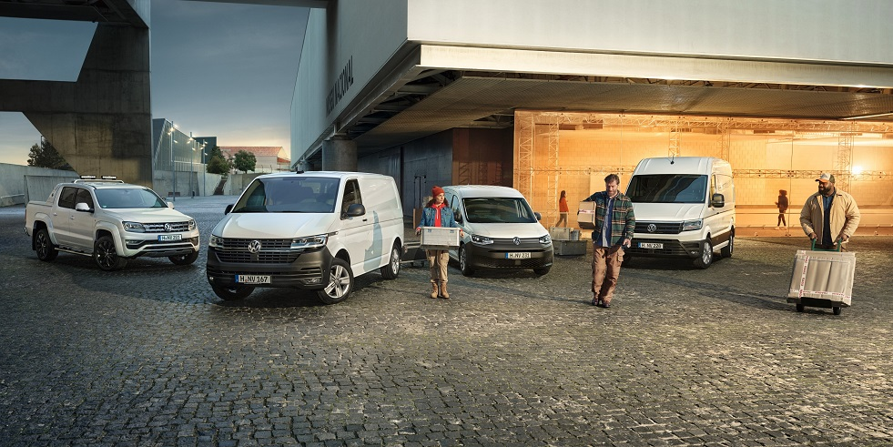 Vehicles delivered by Volkswagen Commercial Vehicles in 2020 affected by coronavirus pandemic