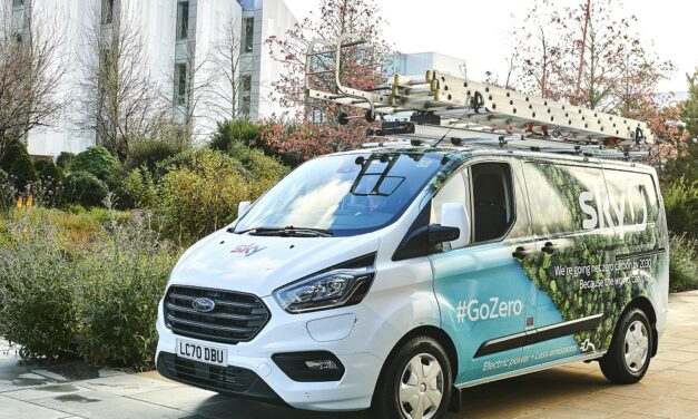 Ford Transit plug-in hybrids put Sky engineers on the road to net zero