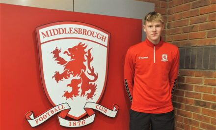 Josh signs pro deal with Middlesbrough Football Club