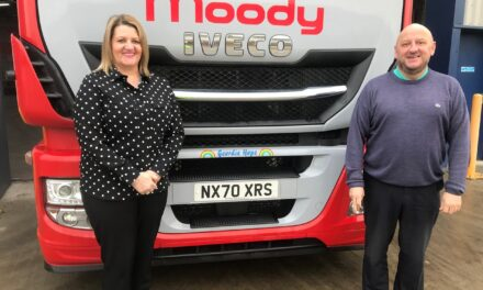 Moody Logistics unveils 'Geordie Hope' as part of £350,000 fleet investment